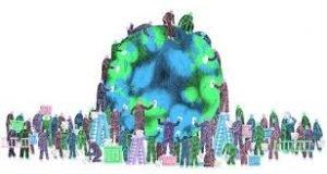 Sociedade e planeta Terra juntos para combater as mudanças climáticas